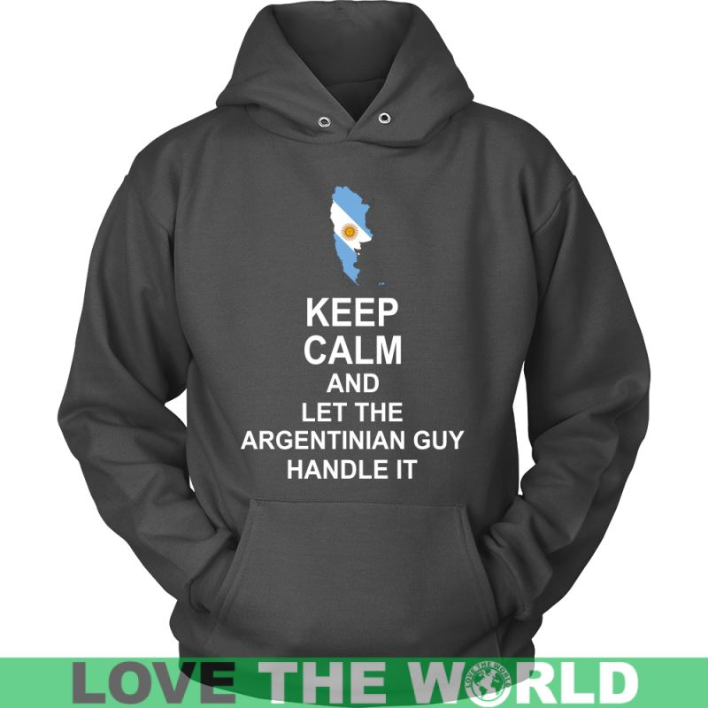 Keep Calm Argentinian Guy 3 District Unisex Shirt / Royal Blue S T-Shirts