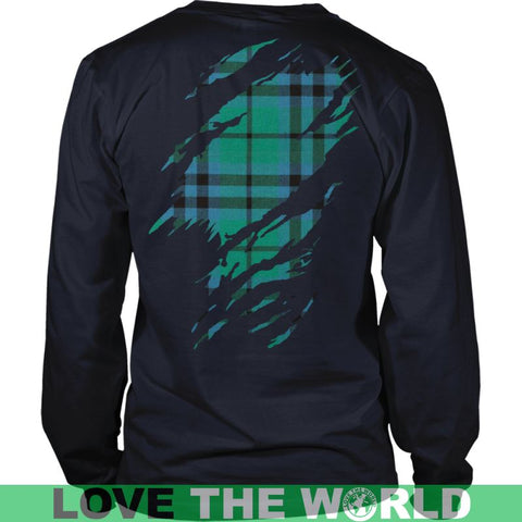 Image of Keith Ancient Tartan Shirt And Tartan Hoodie In Me