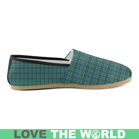 Keith Ancient Tartan Womens Casual Shoes Ha8