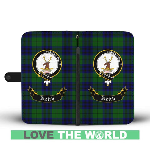 Tartan Wallet Case - Keith Clan | Scottish Wallet Case | 1sttheworld