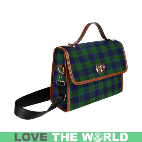 Keith Modern Tartan Plaid Canvas Bag | Online Shopping Scottish Tartans Plaid Handbags