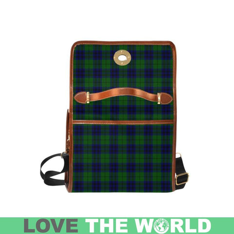 Keith Modern Tartan Canvas Bag | Waterproof Bag | Scottish Bag