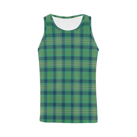 Image of Kennedy Ancient Tartan All Over Print Tank Top Nl25 Xs / Men Tops