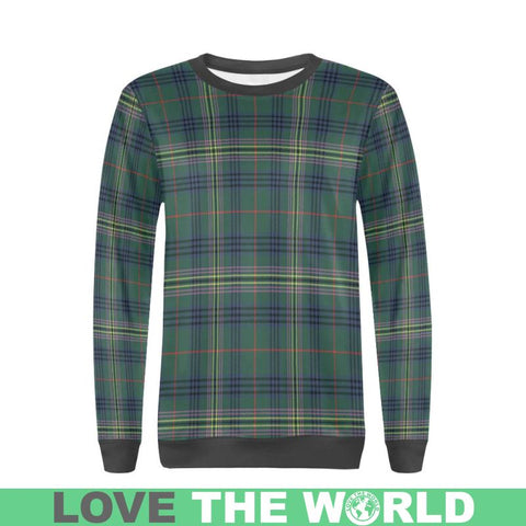 Kennedy Modern Tartan Sweatshirt Nn5 |Clothing| 1sttheworld