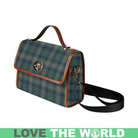 Image of Kennedy Modern Tartan Canvas Bag | Waterproof Bag | Scottish Bag