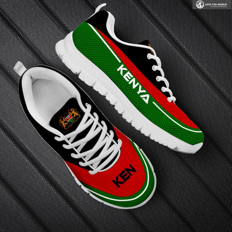 Image of Kenya Sneakers, Kenya Footwear, Kenya Flag, Kenya Shoe