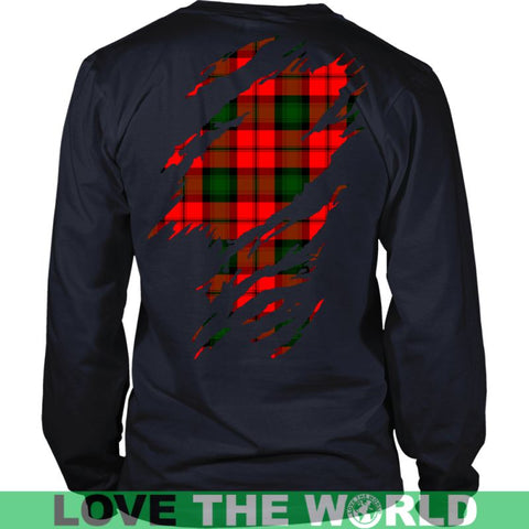 Image of Kerr Modern Tartan Shirt And Tartan Hoodie In Me