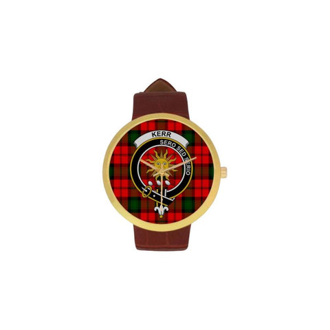 Kerr Clan Badge Tartan Watch