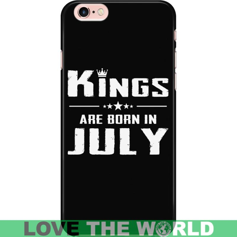 Kings Are Born In July Iphone Case Iphone 6 Plus/6S Plus Phone Cases