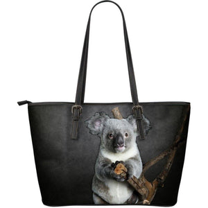 Koala Large Leather Tote Totes