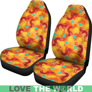 KOKOPELLI CAR SEAT COVER 01 - BN