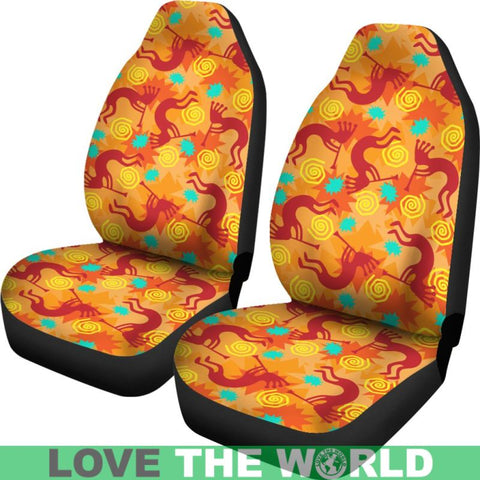 Image of Kokopelli Car Seat Cover 01 - Tn Car Seat Covers Kokopelli / Universal Fit Covers