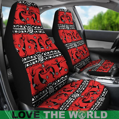 Image of Kokopelli Car Seat Cover 05 - Tn Car Seat Covers / Universal Fit Covers
