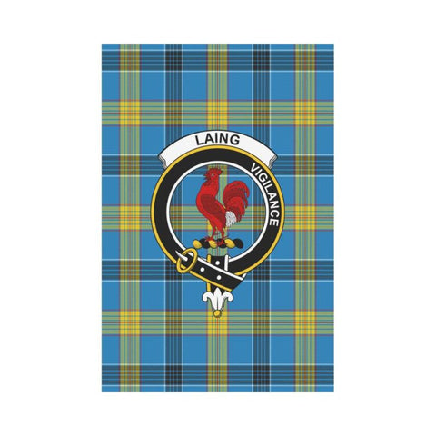 Laing Tartan Flag Clan Badge K7 |Home Decor| 1sttheworld