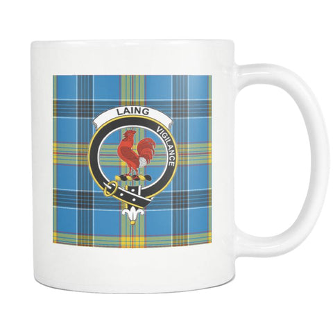 Image of Laing Tartan Mug Ha4 N4 Mugs