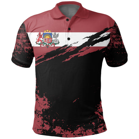 Image of Latvia Polo Shirt Customized K5