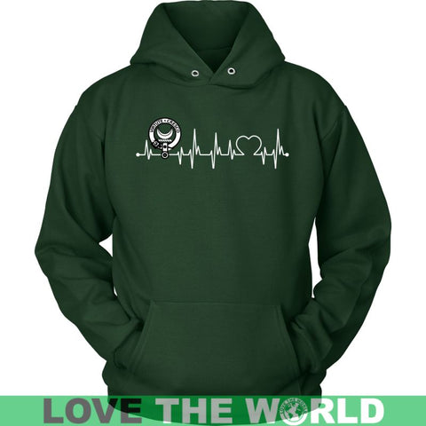 Image of Leask In My Heartbeat N9 Gildan Womens T-Shirt / Black S T-Shirts