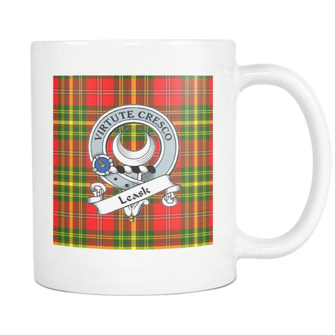 Image of Leask Tartan Mug Ha4 N4 Mugs