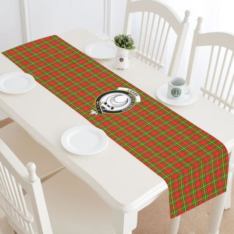 Image of Leask Tartan Table Runner - Tm Runners
