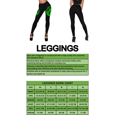 Image of Jamaica Active Leggings A16
