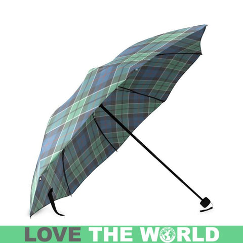 Leslie Hunting Ancient Tartan Foldable Umbrella Th8 |Accessories| 1sttheworld