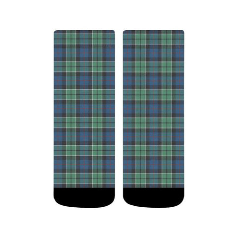 Leslie Hunting Ancient Tartan Quarter Socks S12