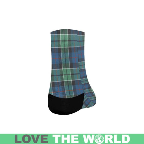 Image of Leslie Hunting Ancient Tartan Quarter Socks S12