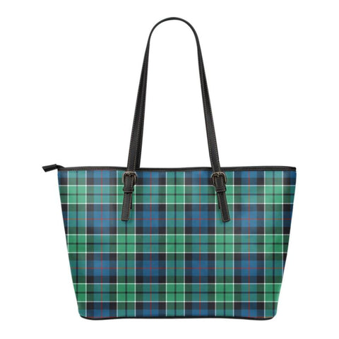 Leslie Hunting Ancient  Tartan Handbag - Tartan Small Leather Tote Bag Nn5 |Bags| Love The World