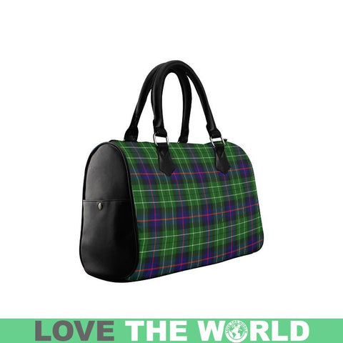Leslie Hunting Tartan Boston Handbag Hj4 Handbags