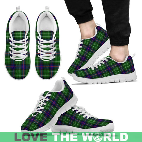 Image of Leslie Hunting Tartan Sneakers - Bn Mens Sneakers Black 1 / Us5 (Eu38)