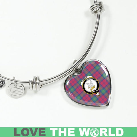 Image of Lindsay Ancient Tartan Silver Bangle - Sd1 Luxury Bangle (Silver) Jewelries