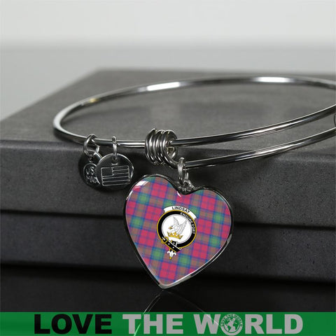 Lindsay Ancient Tartan Silver Bangle - Sd1 Luxury Bangle (Silver) Jewelries