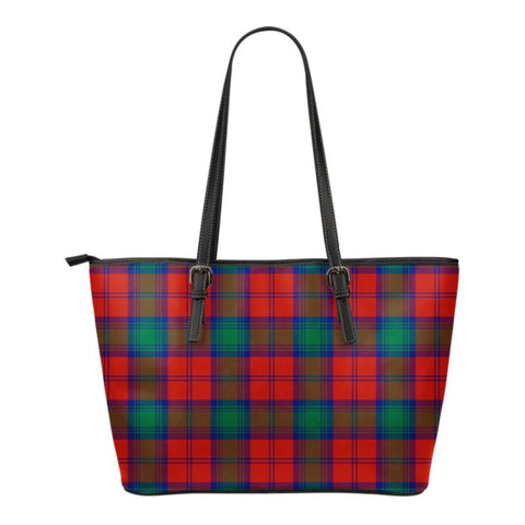 Lindsay Modern  Tartan Handbag - Tartan Small Leather Tote Bag Nn5 |Bags| Love The World