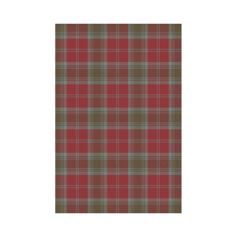 Lindsay Weathered Tartan Flag K7 |Home Decor| 1sttheworld
