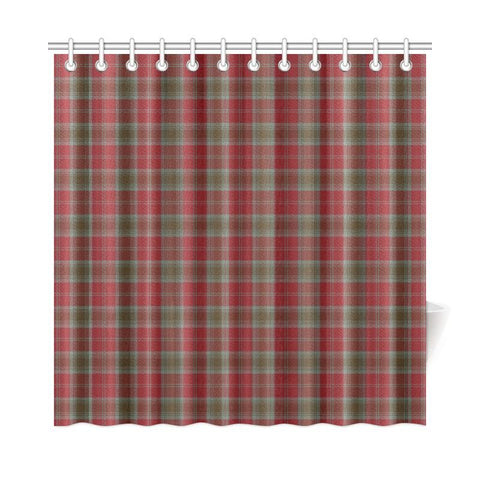 Tartan Shower Curtain - Lindsay Weathered |Bathroom Products | Over 500 Tartans