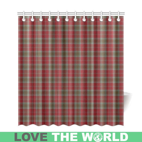 Tartan Shower Curtain - Lindsay Weathered | Over 500 Tartans | Special Custom Design | Love Scotland