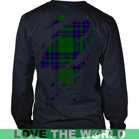 Image of Lockhart Tartan Shirt And Tartan Hoodie In Me