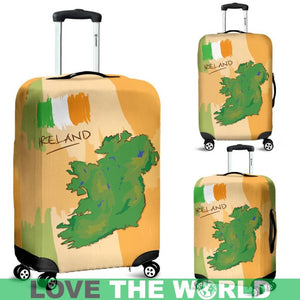 LOVE IRELAND LUGGAGE COVER C1