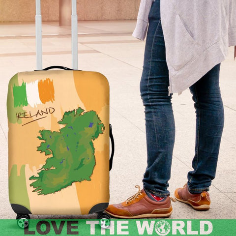 Love Ireland Luggage Cover C1 Covers