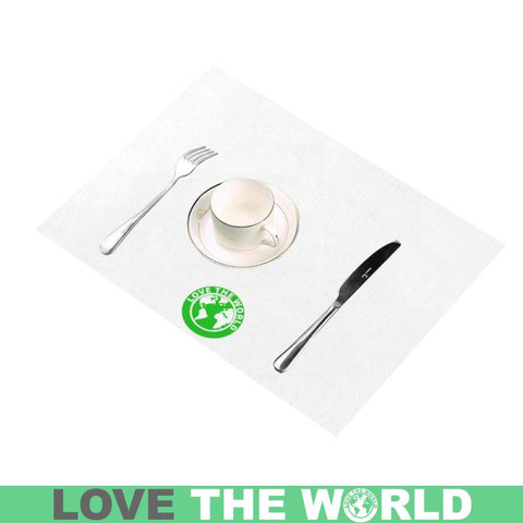 Love The World Placemat 14 Inch X 19 (Six Pieces) Placemats