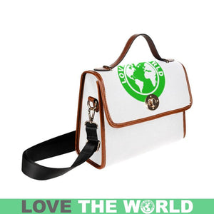 LOVE THE WORLD WATERPROOF CANVAS BAG
