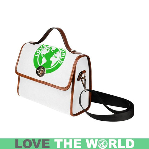Love The World Waterproof Canvas Bag Bags
