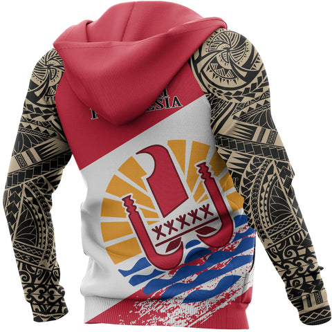 French Polynesia Pullover Hoodie | All Over Print