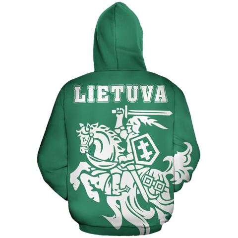 Lithuanian Vytis In Me All-Over Hoodie JT6
