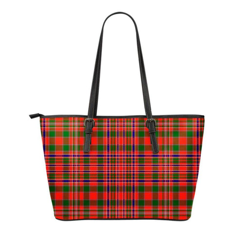 Macalister (Mcalister) Modern  Tartan Handbag - Tartan Small Leather Tote Bag Nn5 |Bags| Love The World
