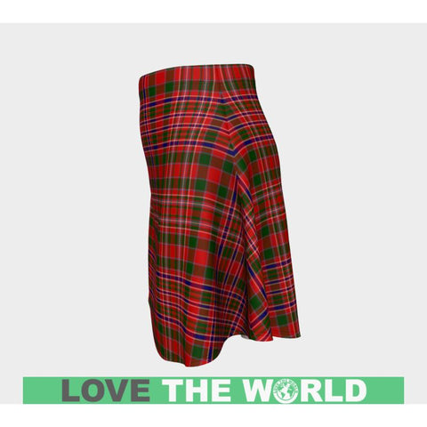 Image of Tartan Skirt - Macalister Modern Women Flared Skirt A9 |Clothing| 1sttheworld