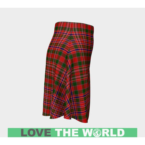 Tartan Skirt - Macalister Modern Women Flared Skirt A9 |Clothing| 1sttheworld