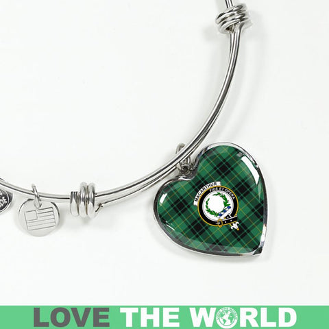 Macarthur Ancient Tartan Silver Bangle - Sd1 Luxury Bangle (Silver) Jewelries