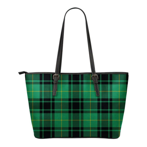 Macarthur (Mcarthur) Ancient  Tartan Handbag - Tartan Small Leather Tote Bag Nn5 |Bags| Love The World