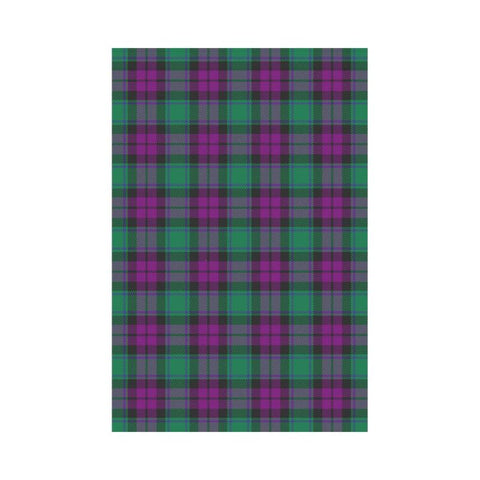 Macarthur Milton Tartan Flag K5 |Home Decor| 1sttheworld